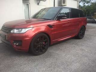 ranger rover unregistered aprove by company credit