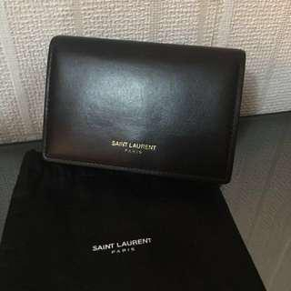 YSL card holder/ small wallet 不議