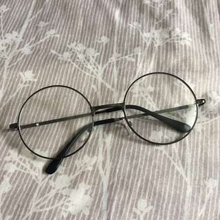 Clear Round Frame Glasses