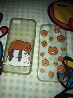 We bare bears and kakao ryan phone case