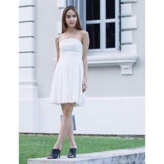 BN Ohvola Thea Pleated Tube Dress