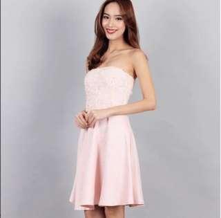 BN Ohvola Rosette style satin dress