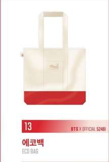 BTS LY Tour - Eco Bag