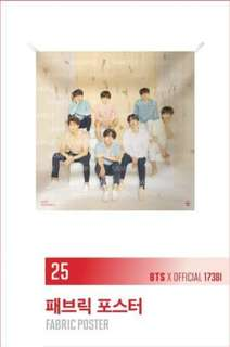 BTS LY (fabric poster)
