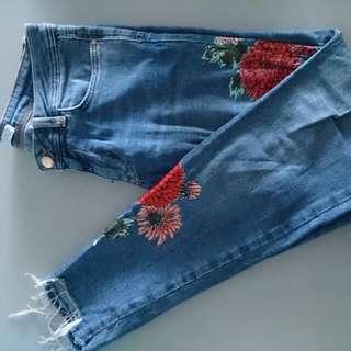 Zara Basic Denim jeans z1975