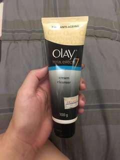 Olay total effects 7 cream cleanser
