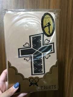 十字架 透明絲襪