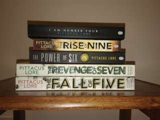 Loreign Legacies seriers by Pittacus Lore
