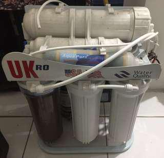 Mesin filter air penyaring (Reverse Osmosis