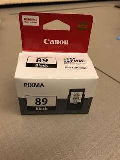 Original Canon Pixma Ink 89 Black