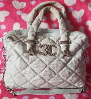 Chanel Large Bubble Calfskin with Strap