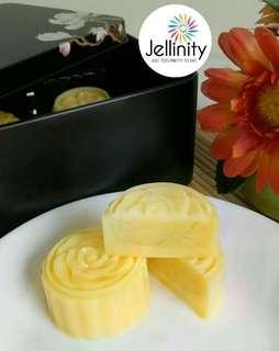 Mao Shan Wang Durian Jelly Mooncakes - REAL DURIAN FLESH!