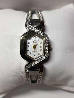 Gold and diamond watch for ladies