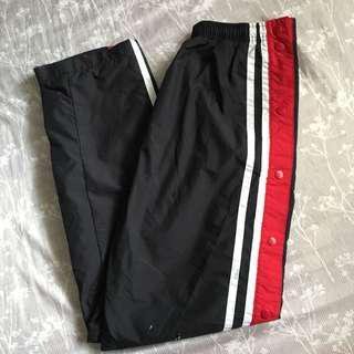 Windbreaker Tearaway Track Pants