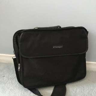 Kensington black laptop bag