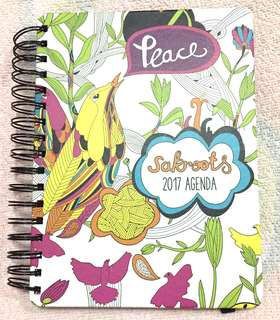 Sakroots - Peace Print 2017 Planner