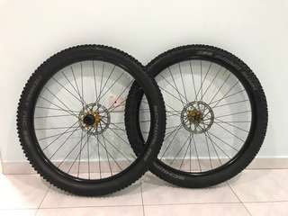 "Profile Elite Stans ZTR Flow Mk 3 wheelset 27.5"" 650b ( bike bicycle mtb mountain enduro am trail )"
