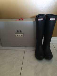 Tall hunter rain boots