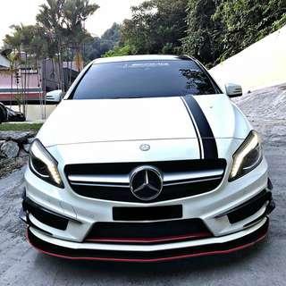 Mercedes A250 AMG 4MATIC sambung bayar