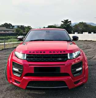 Range Rover Evoque coupe sambung bayar
