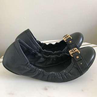 Tory Burch Black Ballerina Flats Size 40