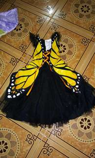 BUTTERFLY GOWN(4 to 6yrs old)