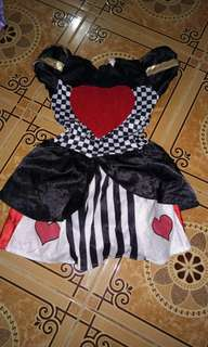 Alis in wonderland costume(4 to 8yrs old)