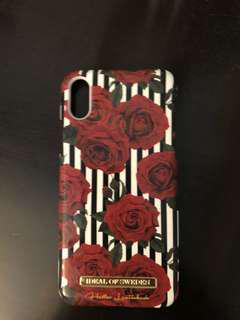 roses iphone x case ideal of sweden