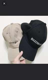 🚚 黑色老帽 棒球帽 鴨舌帽