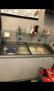 Ice Cream Refrigerator Fits 8 Tubs