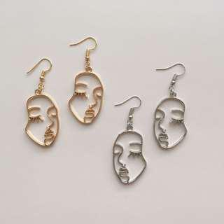 FUNKY FACE EARRINGS TYPE 2