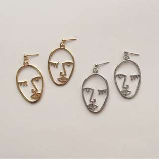 FUNKY FACE EARRINGS TYPE 1