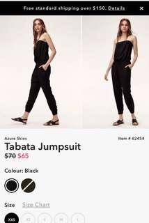 Aritzia Talula Tabata Jumpsuit
