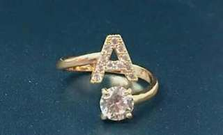 LETTERS OF THE ALPHABET RINGS