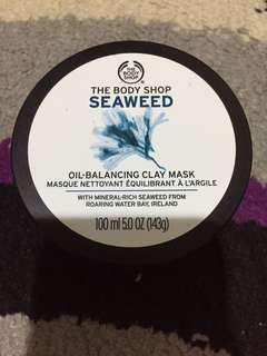The Body Shop Seaweed Mask