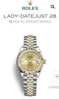 Authentic Rolex Jubilee 4 Links Womens size