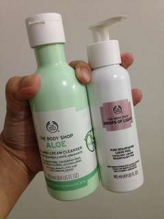 The Body Shop Cleanser and Peeling Gel