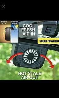 Exhaust Fan Car Solar Cell