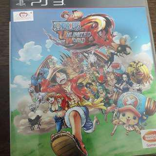 PS3 One Piece Unlimited World