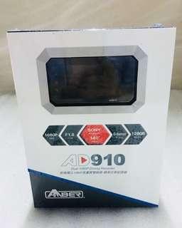 限定加碼送32g記憶卡  銨鉑 AD910 前後雙鏡頭行車記錄器
