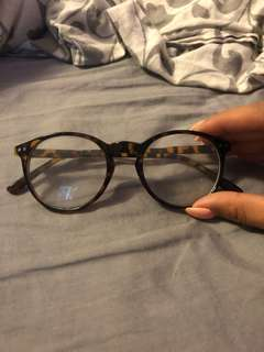Non-prescription glasses from Ubran outfitters
