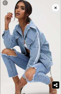 Denim jacket pretty little thing