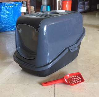 Pee-wee eco-hus litter tray nearly new