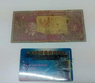 5rp Sukarno 1960