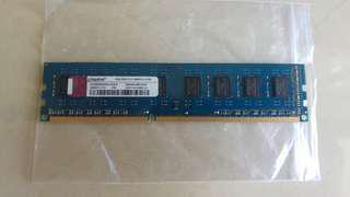 Kingston DDR3-1333mhz, 2GB
