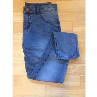 Cotton On Mid Rise Jegging Blue