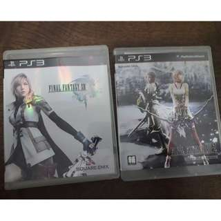 PS3 Final Fantasy 13 combo