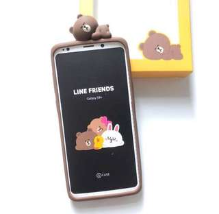 (全新) Line Friends Samsung Galaxy S9+ 電話殼 Smart Phone Case