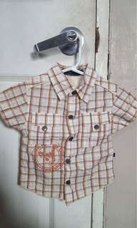 Authentic Periwinkle Jr for baby boy fits 1y
