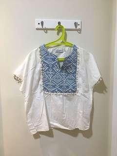 Pre loved cottonink tribal top